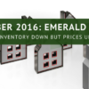 October 2016: Inventory Down But Prices Up Along Emerald Coast